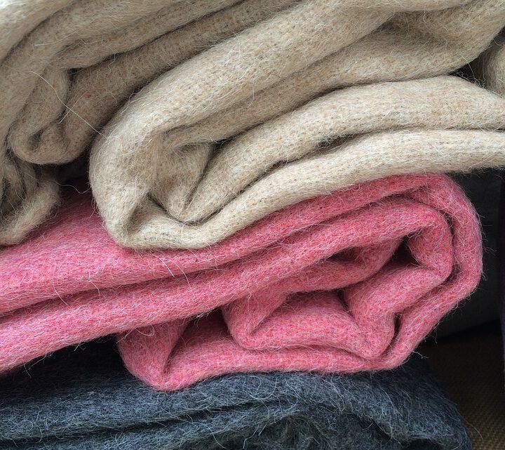 Een wollen deken ouderwets?